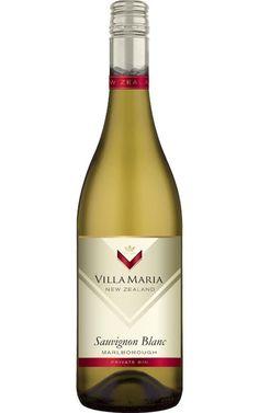 Villa Maria Private Bin Sauvignon Blanc 2018 Marlborough - 6 Bottles Organic Wine, Sustainable Farming, Tropical Fruits, Sauvignon Blanc, White Meat, Wine And Beer, Wine Tasting, Bottles, White Wines