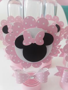 Tubetes Personalizados MINNIE ROSA Minnie Mouse Birthday Theme, Minnie Mouse Pink, Minnie Mouse Party, Cool Birthday Cards, Birthday Party Decorations, Birthday Parties, Mini Mouse Baby Shower, First Birthdays, Scrapbook