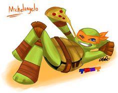 TMNT 2012: Michelangelo by athena-i