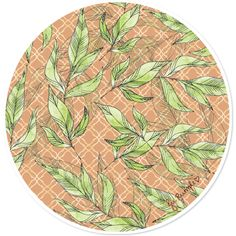 Adesivo Natural Leaves de @jurumple | Colab55
