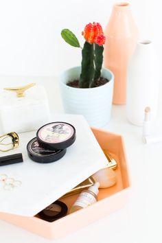 DIY Storage vanity t