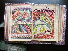 How to make sample stitch book2231