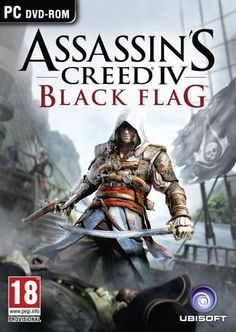 Assassin's Creed IV Poster Assassin's Creed IV: Black Flag is Ubisoft's latest open sea adventure, coming October on XBOX PC & Wii U. Assassin's Creed Black, Assassins Creed Black Flag, Assassins Creed Series, Wii U, Nintendo Wii, Call Of Duty, Instant Gaming, Deco Gamer, Flag Game