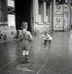 Eski çocuk  oyunları