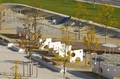 Arnulf Park | München, Germany | Completed 2005 | Realgrün  Landschaftsarchitekten