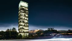 San Marino Business Tower, San Marino (SM), 2010 (unbuilt)