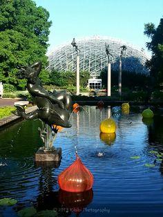 Missouri Botanical Garden, statues, glass, sculptures Garden Features, Water Features, Missouri Botanical Garden, Science Education, Community Art, Public Art, Wonderful Places, All Pictures, St Louis