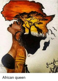 New Black Art Painting Love African Americans Natural Ideas Black Love Art, Black Girl Art, Art Girl, Black Art Painting, Black Artwork, Afrika Tattoos, Afrique Art, African Art Paintings, Black Art Pictures