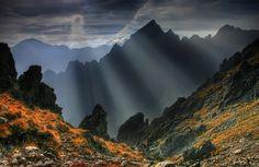 High Tatras - spectacular mountains in Slovakia, central Europe.  Photo by Jakub Polomski, via 500px