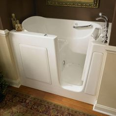 american standard walkin bathtub with air spa massage system and quick drain - American Standard Tubs