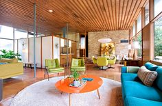 mid century ceilings - Google Search