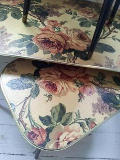 gorgeous floral nest of tables  various prices