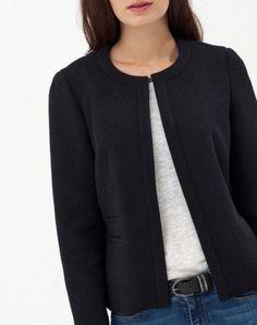 veste noire clémentine