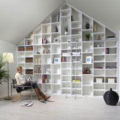 Opbergbox op wielen voor schuine wand slaapkamer pinterest toverstokken berichten en met - Idee van zolderruimte ...