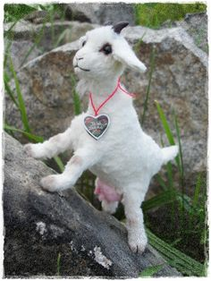 """PDF Instant Download - Pattern / E-Book Goat """" SCHWANLI """"   Approx $15   #goatvet likes this, esp. the udder"""