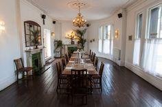 Reception venue: The Stag, Hampstead