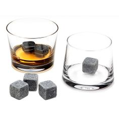Whiskey stones - Ideal for chilling your favorite spirit without diluting its flavor $20