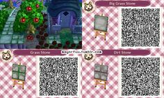 """mayorfuu: """"These are the stepping stone paths I made for my town! They're meant to match spring season. """""""