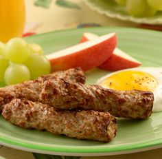 apple maple breakfast sausage with sunny side up egg more breakfast ...