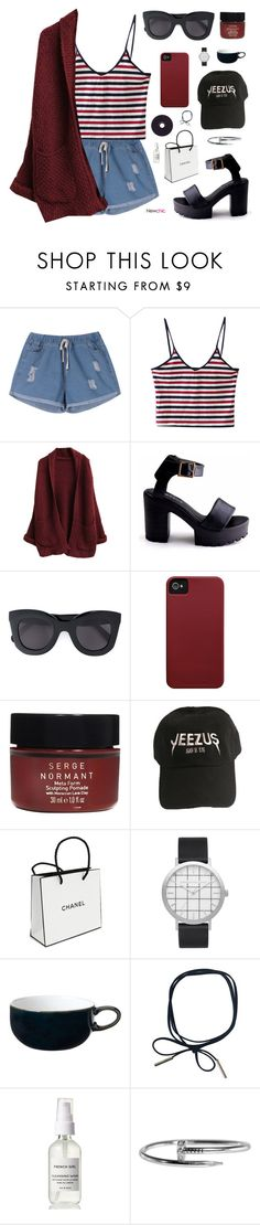 """""""Newchic 4"""" by jesicacecillia on Polyvore featuring CÉLINE, Case-Mate, Serge Normant, Chanel, Elwood, Denby, newchic and lovenewchic"""