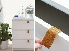 Nuevo aire a la cómoda Malm de Ikea | Estilo Escandinavo
