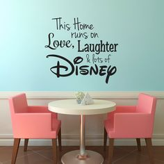 Show all your guests that you are crazy about Disney with this Disney Wall Decal. Get yours today! https://www.etsy.com/listing/452626864/disney-wall-decal-disney-wall-sticker?utm_source=Pinterest&utm_medium=PageTools&utm_campaign=Share