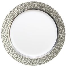 Elegant Hammered Effect Clear plastic salad plate with silver rim. Buy disposable plastic salad plates at Posh Party Supplies. Shop at Posh Party Supplies ...  sc 1 st  Pinterest & Mist Ivory Gold Plastic Dinnerware Value Pack | 120 for $98 | C\u0026C ...
