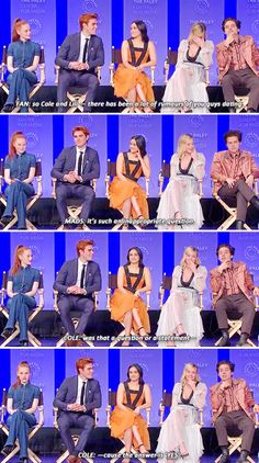 Madelaine's face in the last pic The post Madelaine's face in the last pic appeared first on Riverdale Memes. Bughead Riverdale, Riverdale Funny, Riverdale Memes, Riverdale Season 1, Riverdale Betty And Jughead, Lili Reinhart And Cole Sprouse, Zack E Cody, Riverdale Characters, Riverdale Cole Sprouse