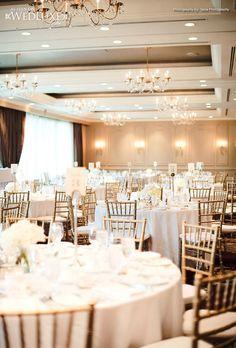 White decor at Terminal City Club, Vancouver Flower Decorations, Wedding Decorations, Table Decorations, Wedding Ceremony, Reception, White Decor, Vancouver, Floral Arrangements, Wedding Flowers