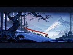 Banner Saga  http://kotaku.com/5987200/the-art-of-the-banner-saga-one-of-the-most-beautiful-video-games-ive-ever-seen