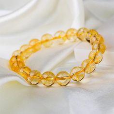 Bracelet en Citrine - Succès et Santé