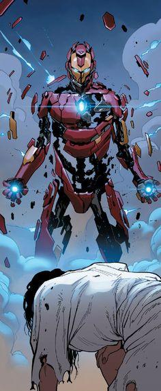 Iron Man Armor Model 51 by David Marquez