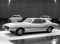 Jim & Chester's Garage XP-836… Camaro concept clay circa late 1964