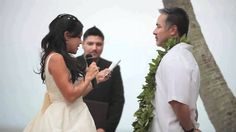 Demo video of Hawaii Wedding officiant and ceremony services. - http://live.discoverhawaiinetwork.com/vacations/wedding-honeymoon/demo-video-of-hawaii-wedding-officiant-and-ceremony-services/