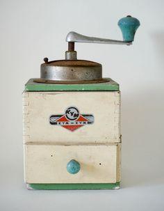 Kym Kym German Vintage Coffee Grinder