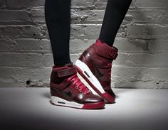 #Nike Air Revolution Sky Hi  #London #Wedge #Sneakers