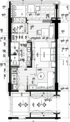 Grand Hyatt Sanya Haitang Bay Hotel Floor Plan, Luxury Floor Plans, Modern Floor Plans, House Floor Plans, Plano Hotel, Drawing House Plans, Detail Architecture, Craftsman Floor Plans, Architectural Floor Plans