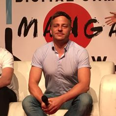 "Lovely photo of Tom Wlaschiha at the ""Digital Game Manga Show"" in Strasbourg!! :)Source: @MickaelMcFly From: https://www.facebook.com/tomwlaschihafanpage/"