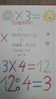 Ho introdotto l'argomento con l'aiuto del libro... ma sono necessari sempre gli approfondimenti Divisione con Math 2, Mathematics, Bullet Journal, Teaching, Education, Cl, Mary, Dessert, Activities