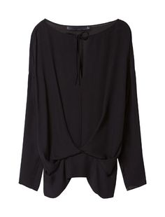 STUDIO SILK LOOSE BLOUSE - Shirts - Woman - ZARA United States