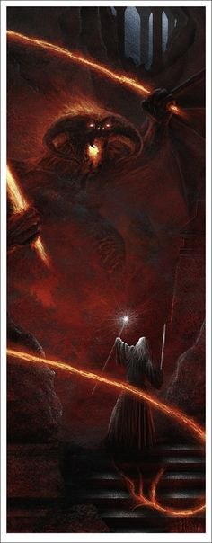 """Lord Of The Rings"" Mondo Posters"