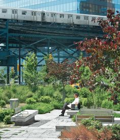 Ruddick's design for Queens Plaza in New York helped transform a neglected space into an easily navigable gathering spot. The concrete ba...