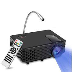 Vidéoprojecteur Yokkao RD805 Mini Projecteur Portable LCD LED Full HD 1080P 130 » Divertissement Cinéma Maison, Domicile, Théâtre,…