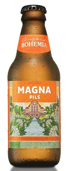Bohemia Magna Pils More Beer, All Beer, Wine And Beer, Beer Bottles, Claude Monet, Craft Beer, Coca Cola, Cheers, Drinking