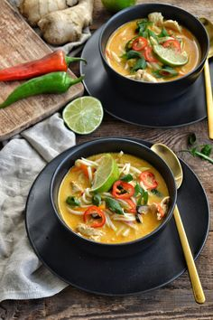 Thai Red Curry, Cravings, Good Food, Menu, Cooking, Ethnic Recipes, Soups, Kitchen, Gastronomia