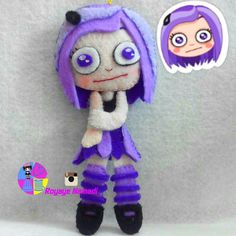#felt #baby #gift #cute #royayenamadi #viber #sticker #doll #وایبر #نمدی #زیبا