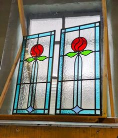 Stained glass windows   Light Leaded Designs   Rossendale Victorian Stained Glass Panels, Modern Stained Glass, Stained Glass Door, Making Stained Glass, Stained Glass Projects, Selling Crafts Online, Craft Online, Window Maker, Acrylic Art