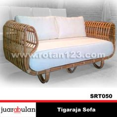 Tigaraja Sofa Rotan Alami SRT050 copy