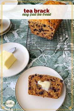 Tea Brack is a sweet quick bread made with loads of dried fruits soaked in some hot tea (with or without a wee bit of whisky). Great for breakfast or dessert. tea bread | quick bread | Irish recipes | Scottish recipes | Scot Irish recipes Easy Desserts, Dessert Recipes, Potluck Recipes, Fun Recipes, Amazing Recipes, Quick Bread, How To Make Bread, Irish Recipes, Scottish Recipes