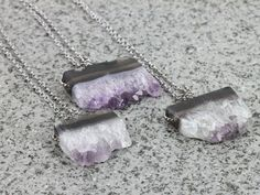 Find More Chain Necklaces Information about Silver Plated Chain Amethyst Pendant Natural Stone Necklace,Crystal Quartz Necklace Women Gift Jewelry,High Quality necklace pearl,China necklace label Suppliers, Cheap quartz shoes from -LINKS on Aliexpress.com